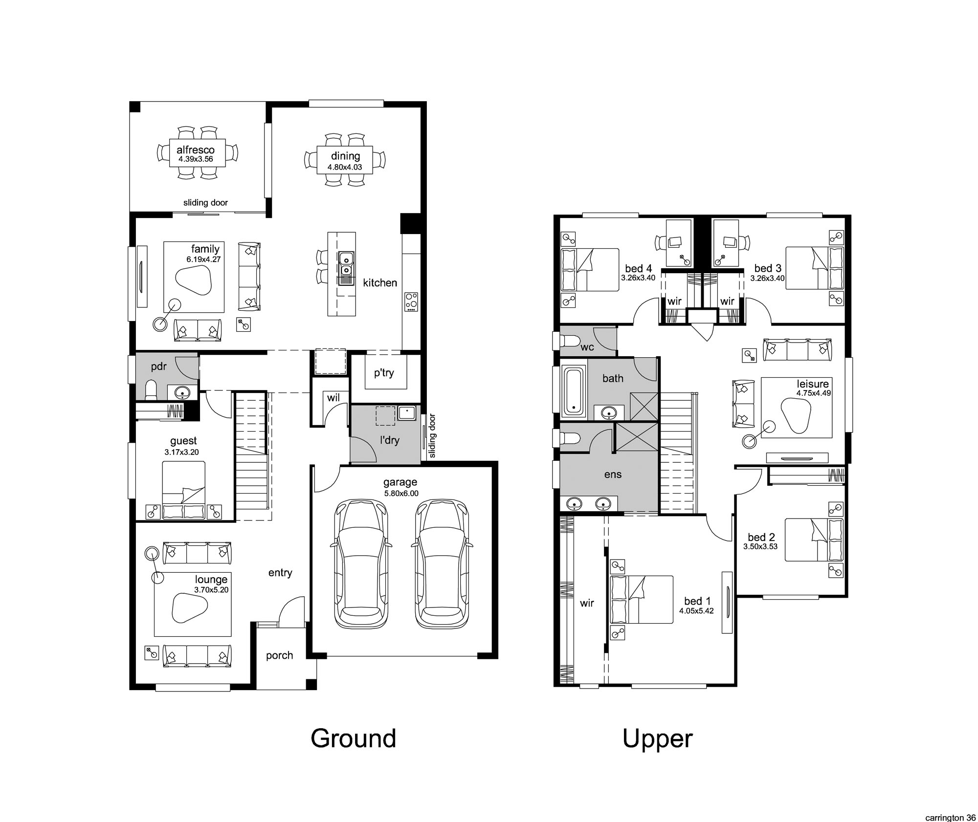Floor Plan 1 flipped