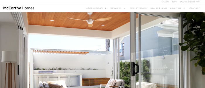 McCarthy Homes New Website Blog Banner